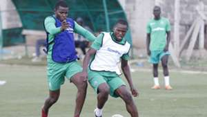 Nicholas Kipkirui of Gor Mahia in training session.j