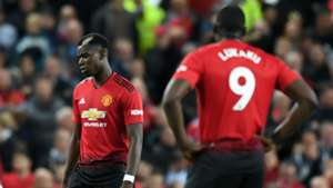 Paul Pogba Romelu Lukaku Manchester United 2018-19