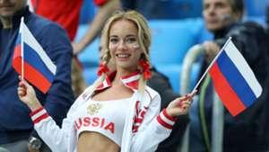 美女サポワールドカップ_ロシアvsエジプト_ロシア1