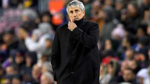 'I didn't like my team' - new Barcelona coach Setien already with questions to answer