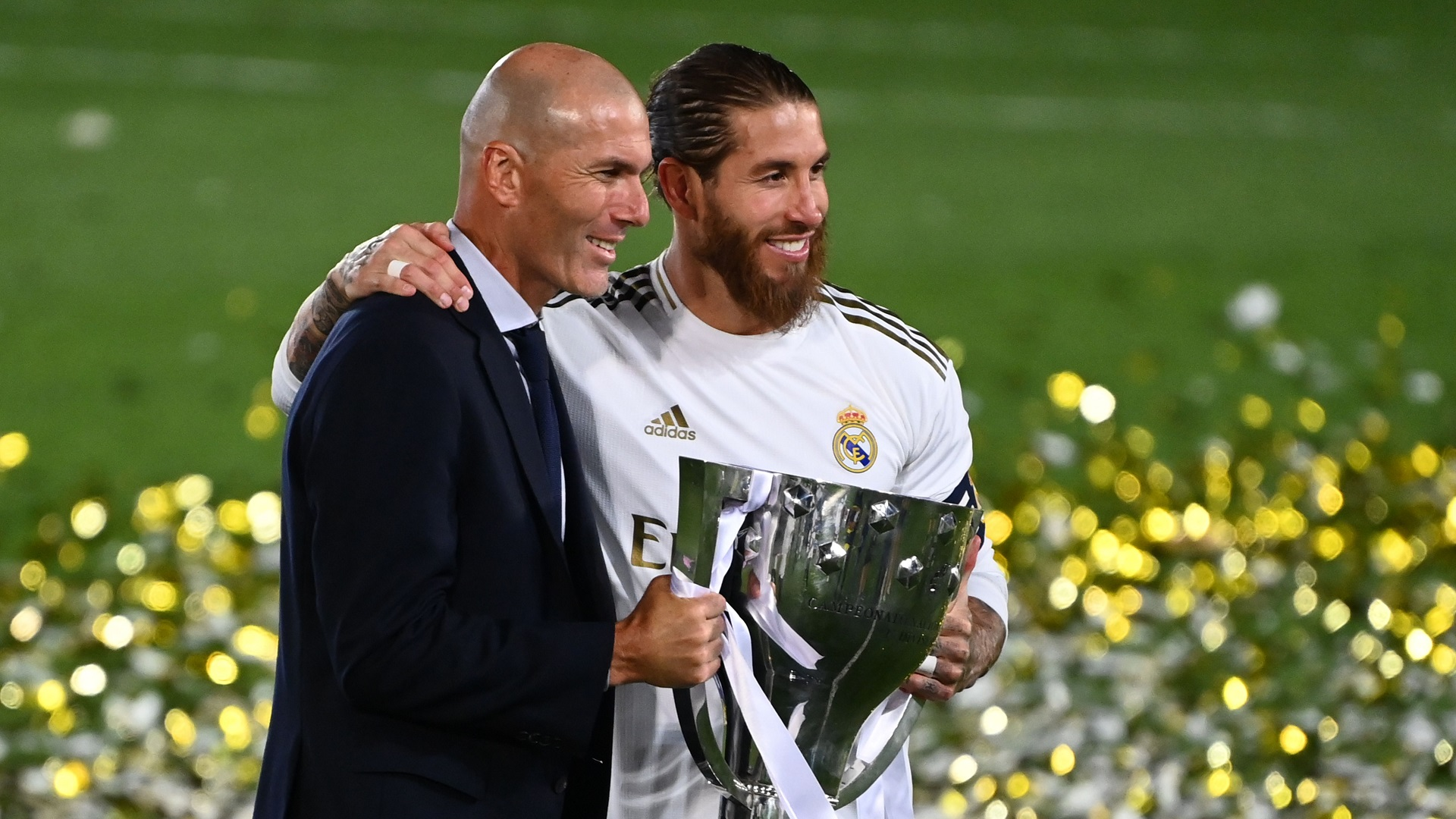 'Everything Zidane touches turns into gold!' - Ramos praises 'unique' Real Madrid boss after La Liga triumph