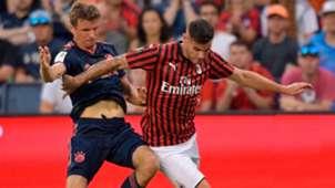 Theo Hernandez Bayern Milan