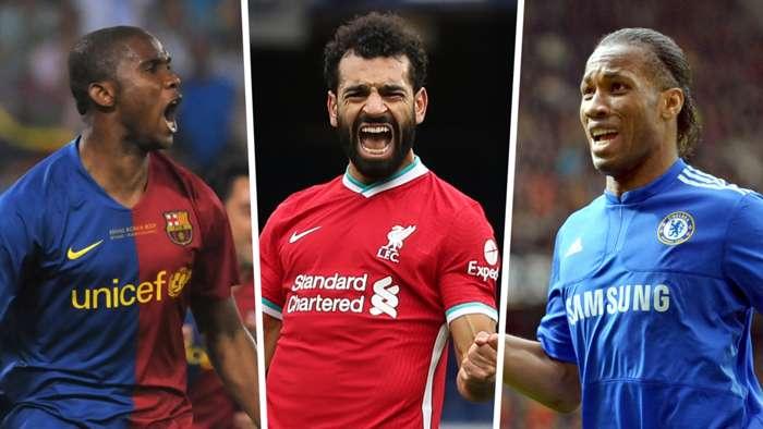 Samuel Etoo Mohamed Salah Didier Drogba
