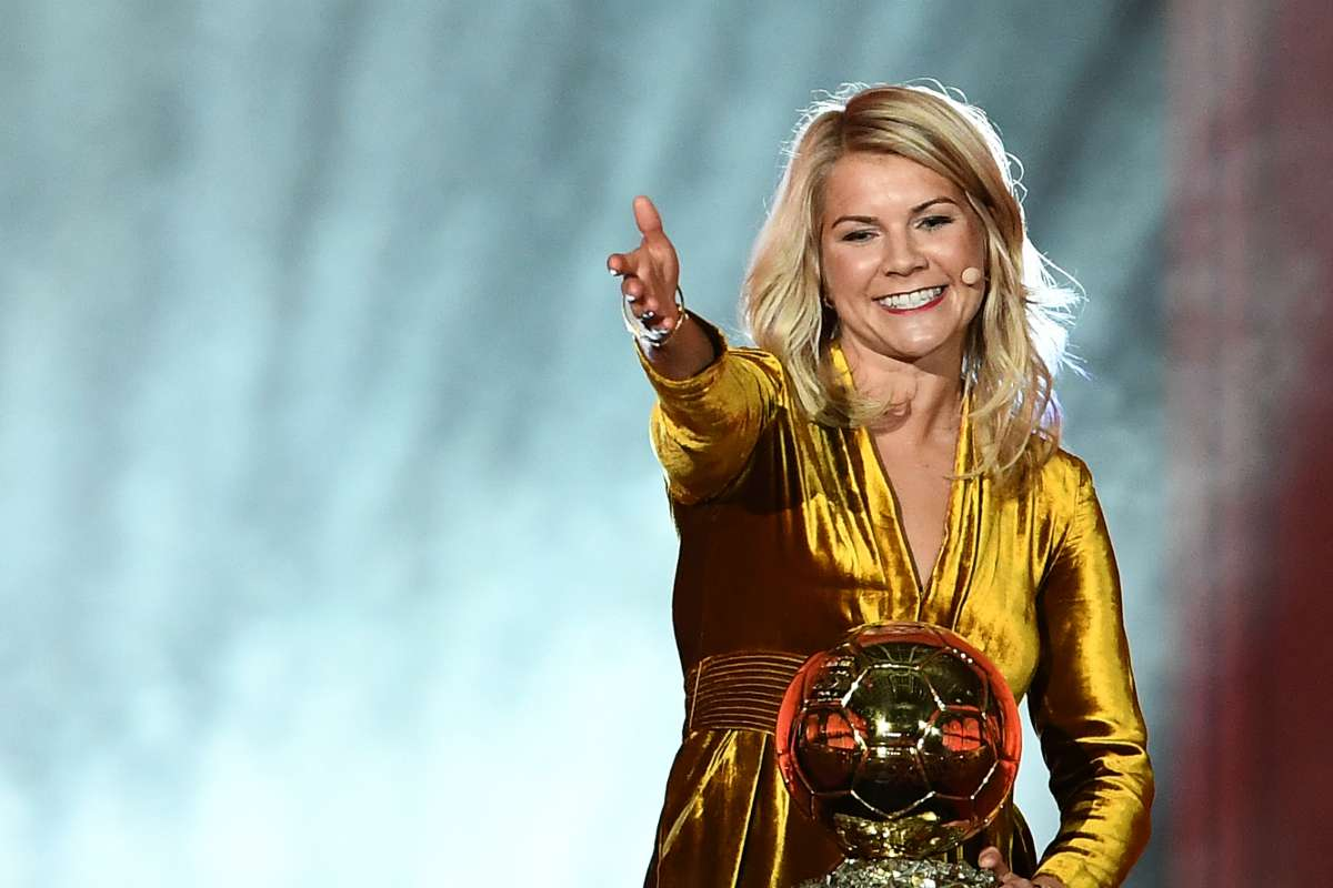 Ada Hegerberg and the Ballon d'Or;Iconic Sports Image in Women Sport-SportzPoint