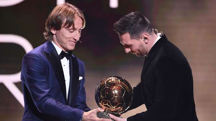 Luka Modric, Lionel Messi, Ballon d'Or