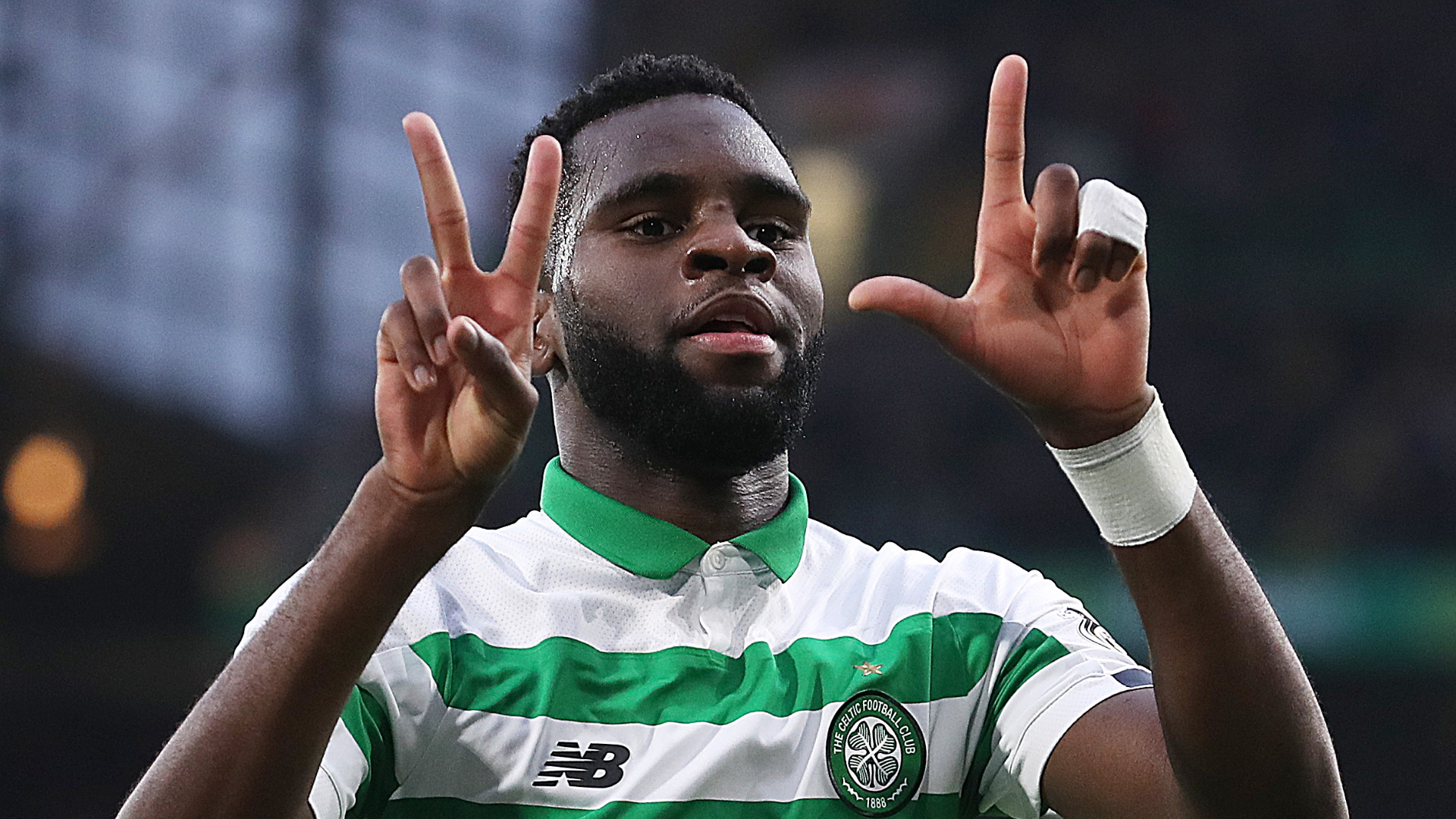 Edouard plays down Arsenal talk and would 'love to be a part' of 10 straight Celtic titles