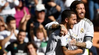 Eden Hazard Sergio Ramos Real Madrid