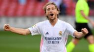 Luka Modric celebrates