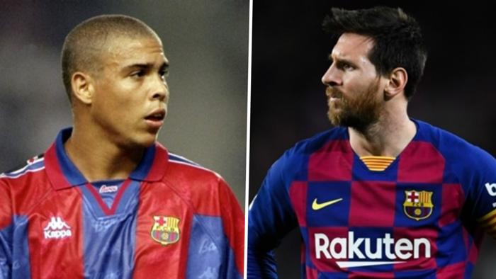 Ronaldo Lionel Messi composite