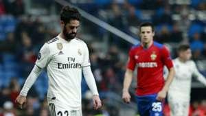 Isco Real Madrid CSKA Champions League 121218
