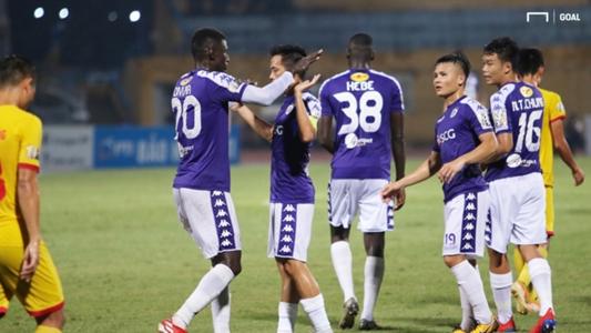 TRỰC TIẾP Hà Nội FC vs Quảng Nam. Link xem Hà Nội FC vs Quảng Nam. Trực tiếp bóng đá. V.League 2019 | Goal.com