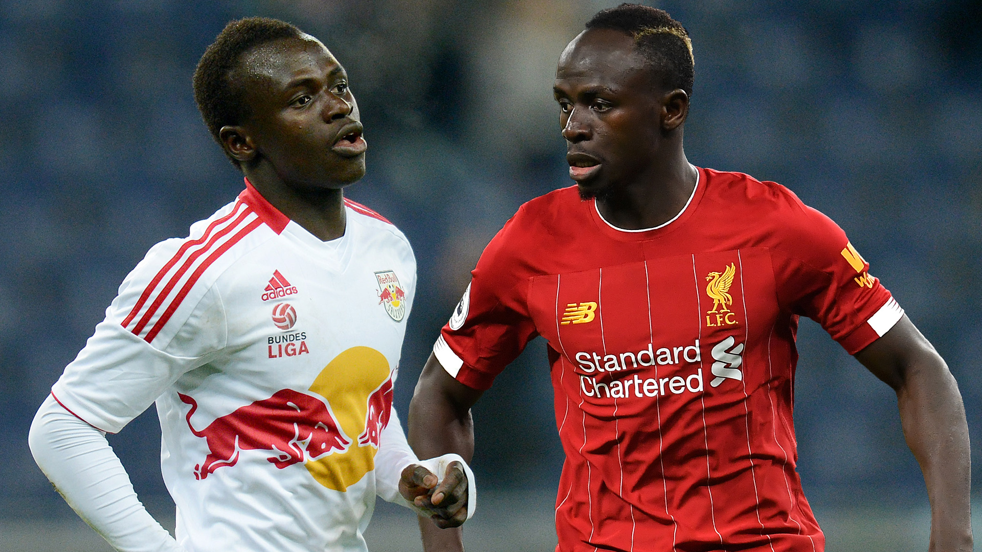 Sadio Mane Red Bull Salzburg Liverpool