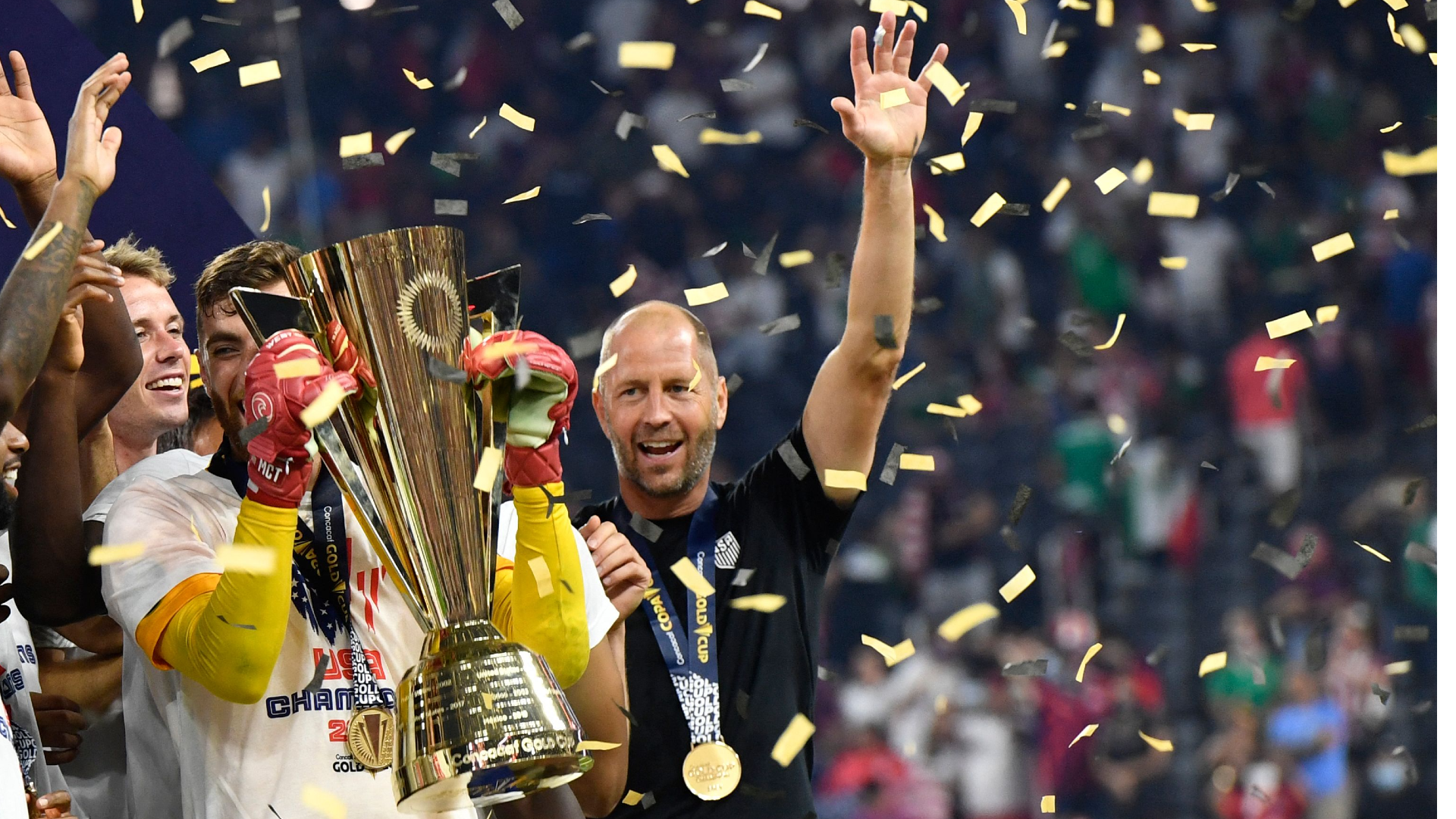 'I just wanted it so bad for them' - Berhalter hails 'relentless' USMNT after incredible win over Mexico