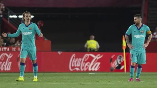 Lionel Messi Antoine Griezmann Barcelona Granada