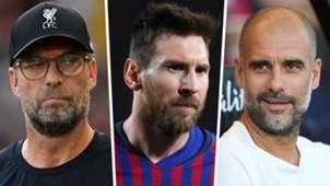 Klopp Messi Guardiola