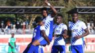 PROMISE CHINONSO of Sofapaka celebrate against Gor Mahia.