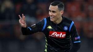 Callejon Zurigo Napoli Europa League