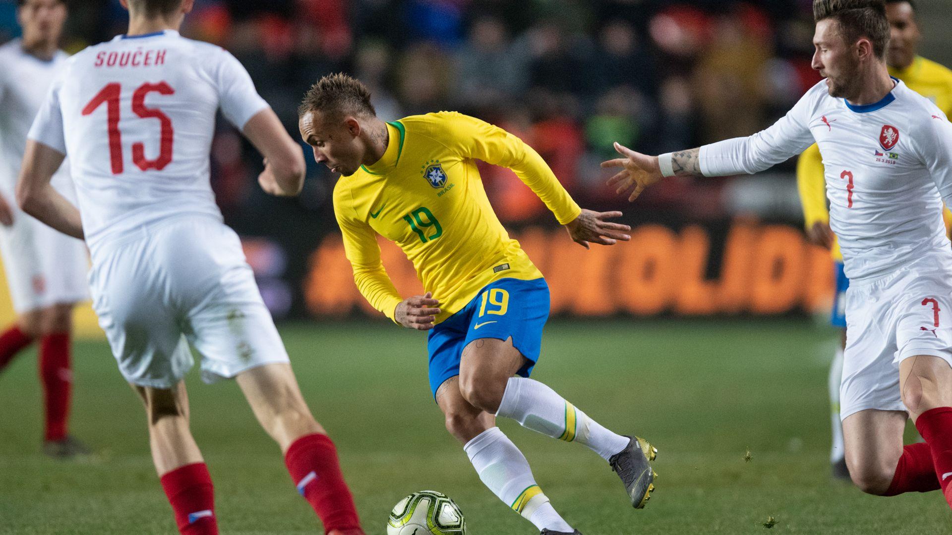 Everton Brazil Czech Republic Friendly 26032019