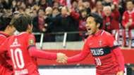 Shinzo Koroki Urawa Red Diamonds v Kashima Antlers J.League 03122016