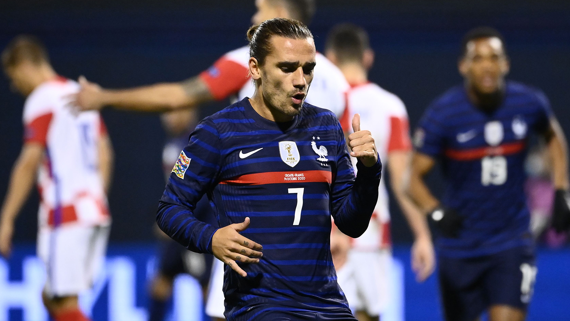 Griezmann praises Deschamps for deploying him correctly in France win