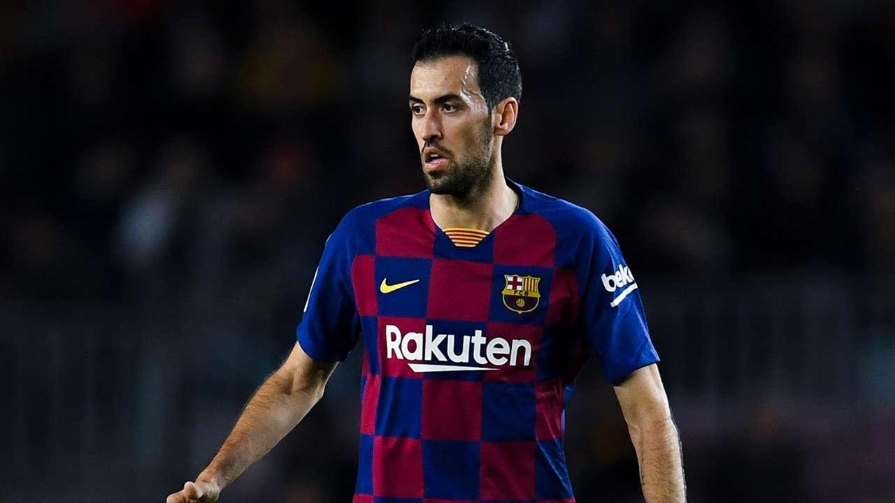 Sergio Busquets Barcelona 2019-20