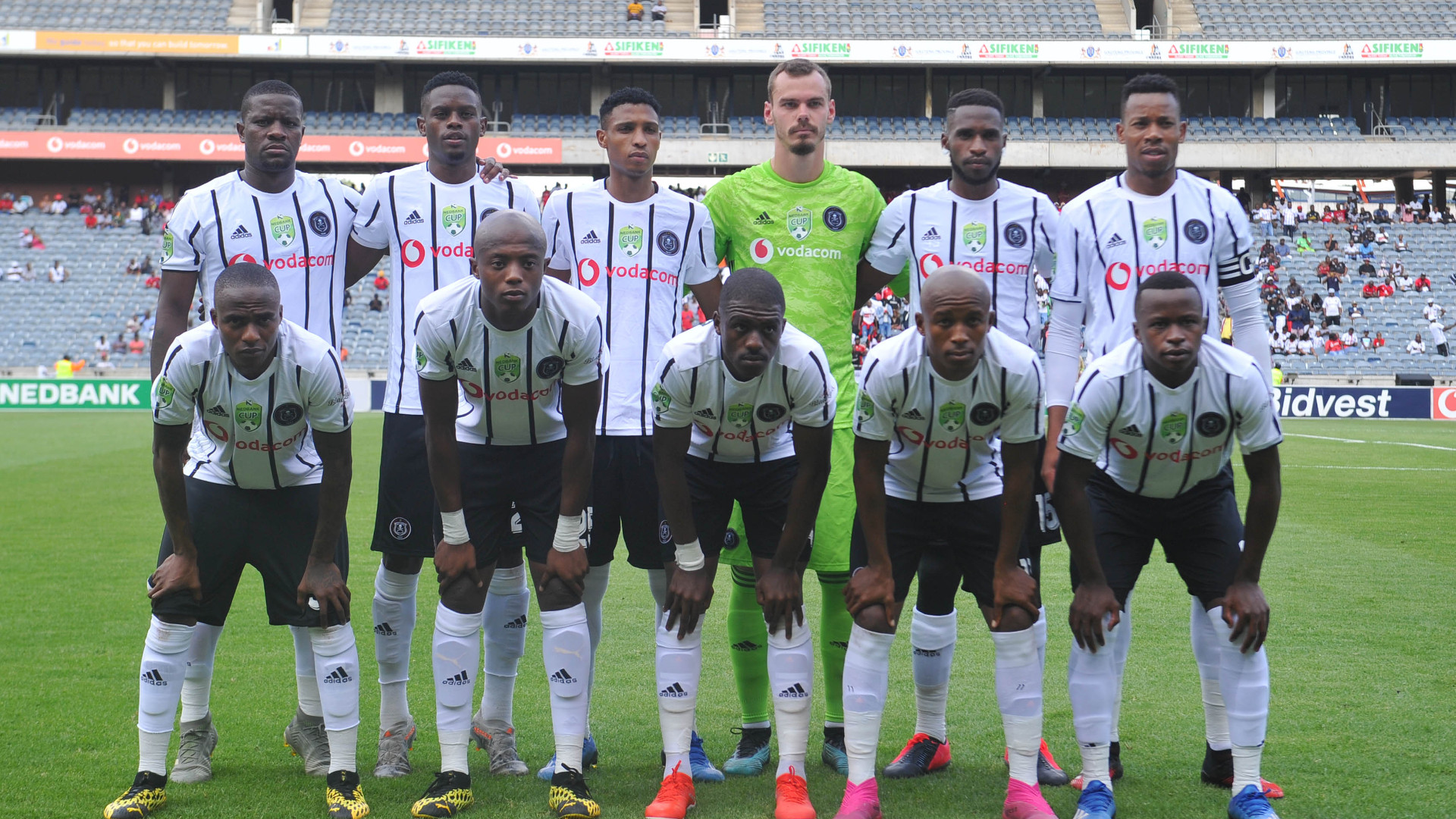 Orlando Pirates Team, February 2020
