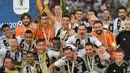 Juventus celebrating Supercoppa