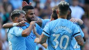 Manchester City Celebrating 2019