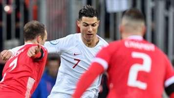 Cristiano Ronaldo Portugal Luxembourg 2019-20