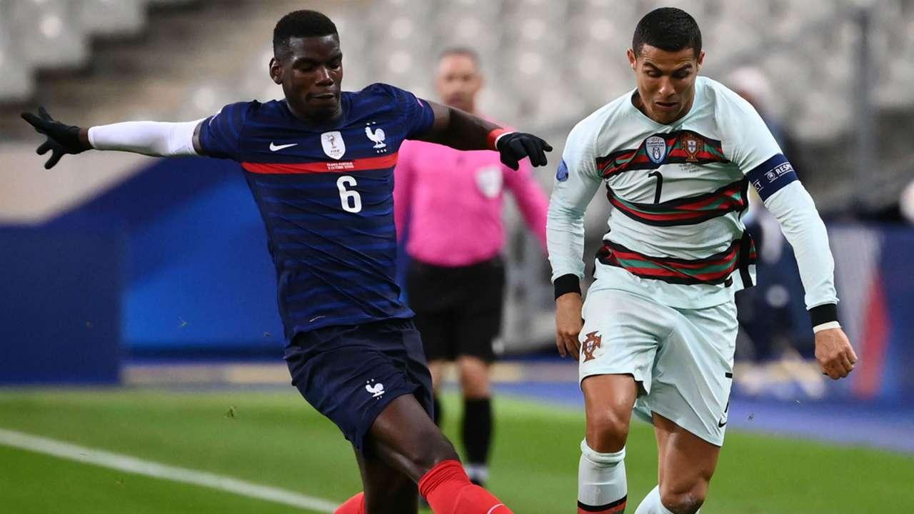 Cristiano Ronaldo France Portugal Nations League 11102020