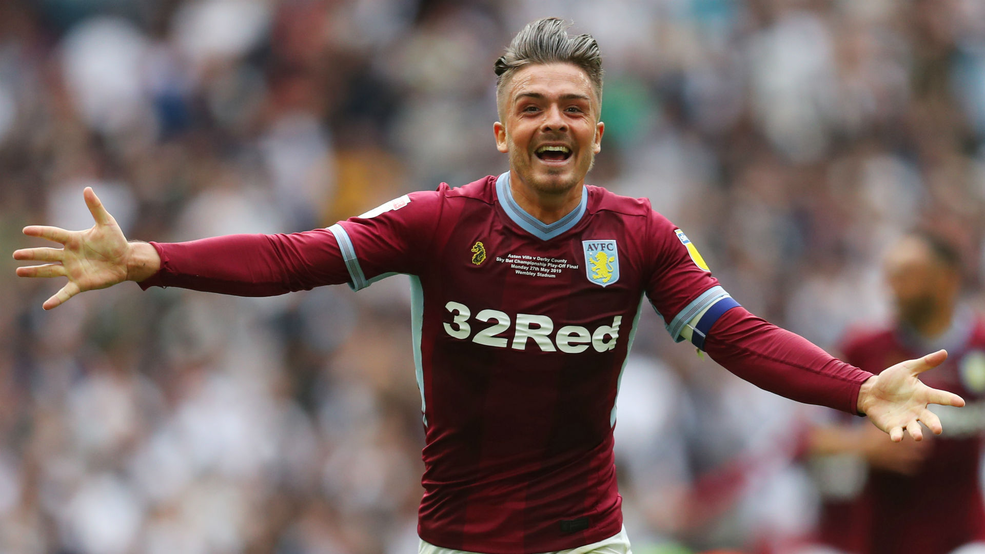 Jack Grealish Aston Villa 2018-19
