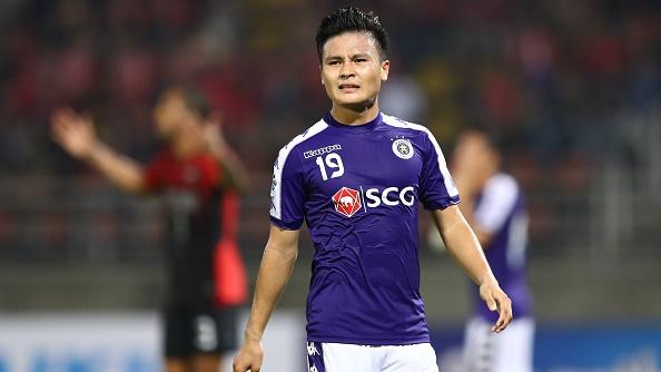 Nguyen Quang Hai Bangkok United vs Ha Noi FC AFC Champions League 2019