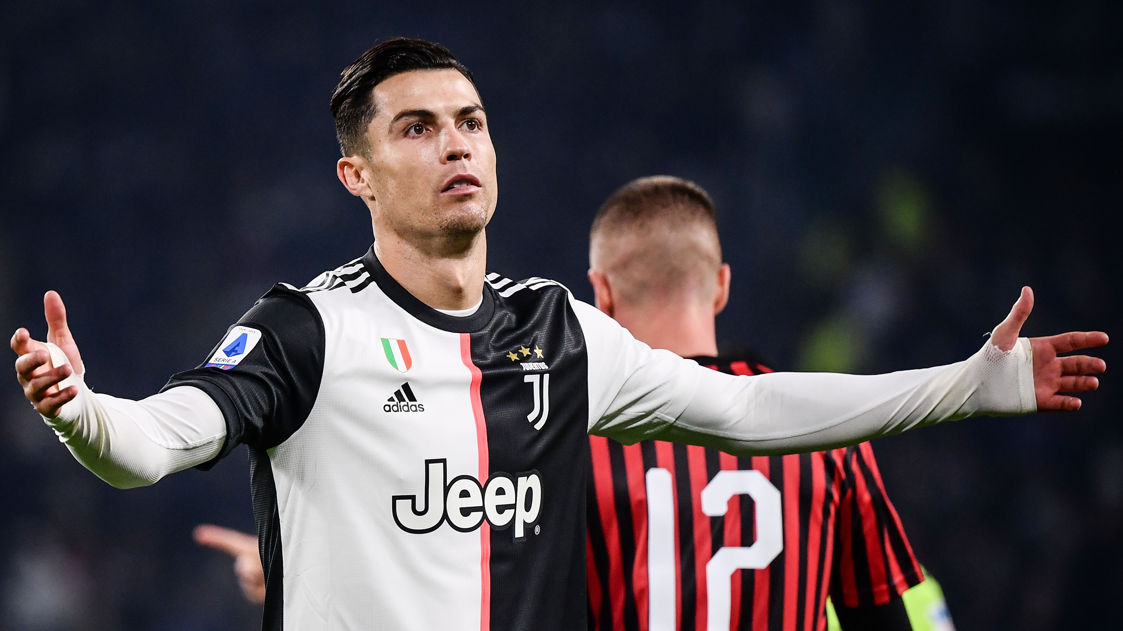 Ronaldo leaves stadium before final whistle after being substituted