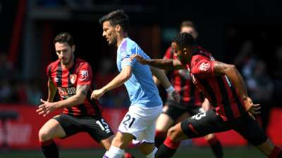 David Silva Bournemouth vs Manchester City 2019-20
