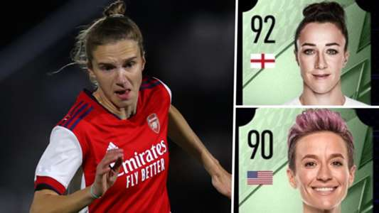 FIFA 22 ratings: Miedema, Bronze, Rapinoe and the best female footballers revealed   Goal.com