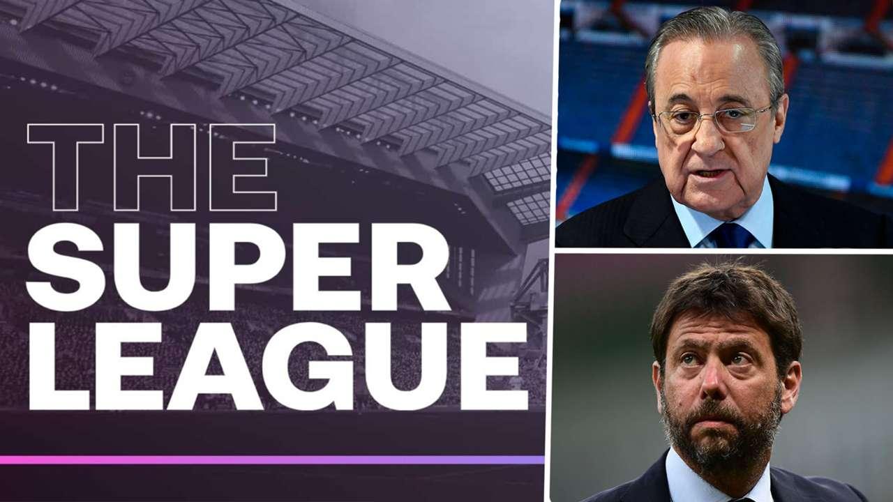 Super League Florentino Perez Andrea Agnelli
