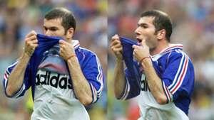 Zinedine Zidane France Brazil 1998 World Cup