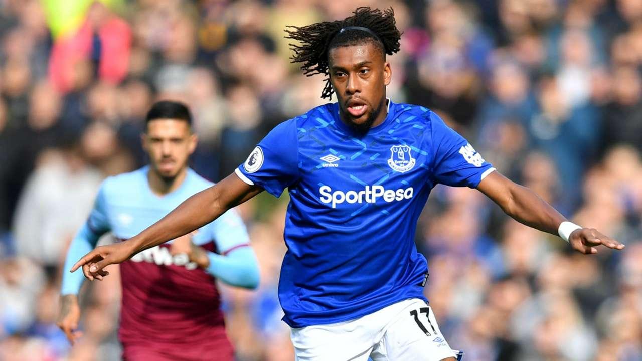 Alex Iwobi - Everton