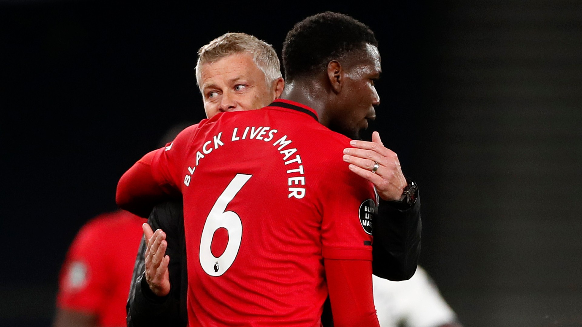'Pogba's making up for lost time' - Man Utd coach Solskjaer 'delighted' to see Frenchman shine alongside Fernandes