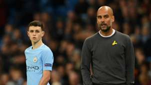 Phil Foden Pep Guardiola Manchester City