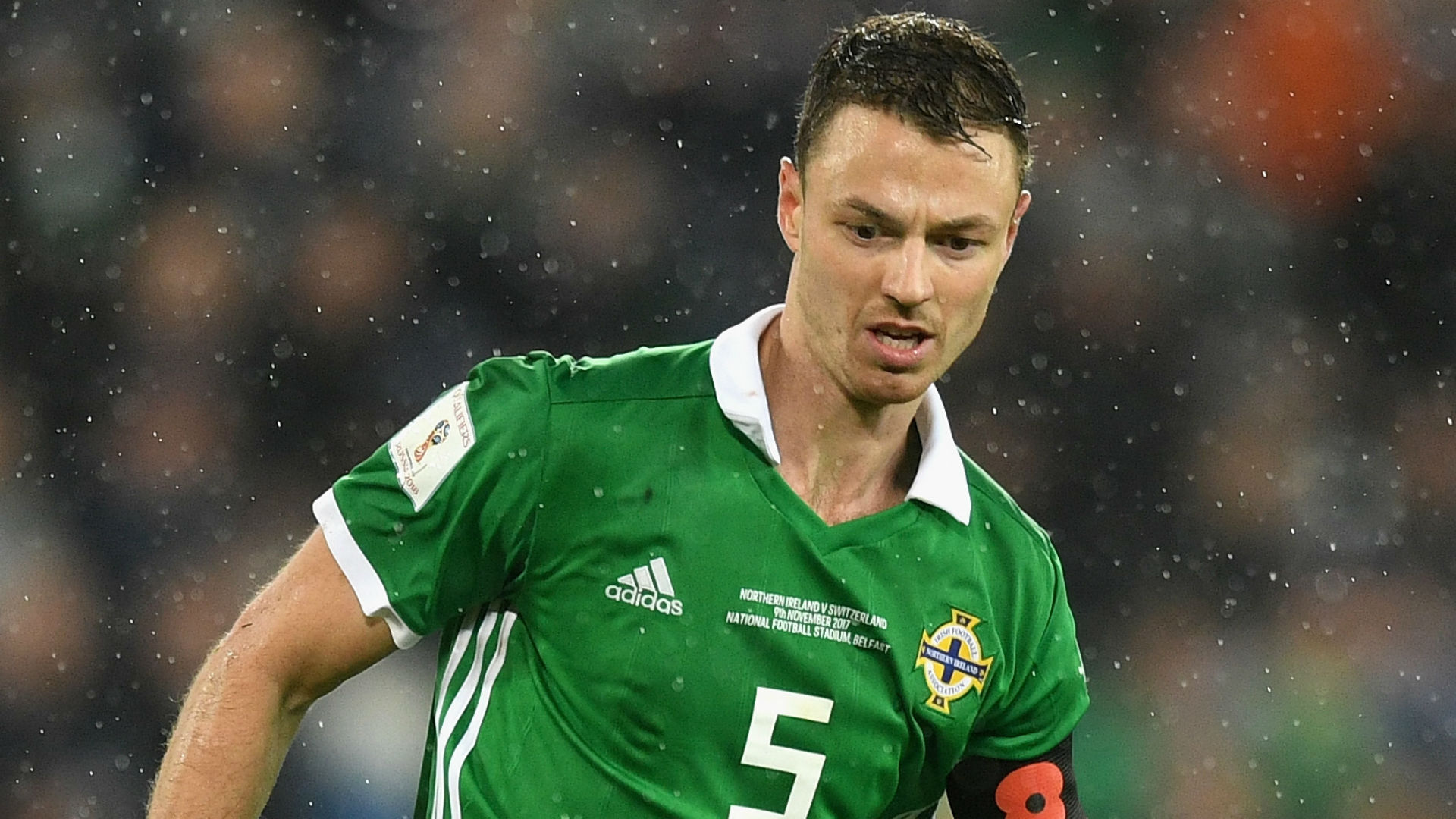 Jonny Evans Northern Ireland 2017