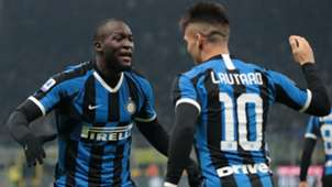 Inter atalanta 2020 Lautaro Martinez Lukaku