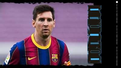 Lionel Messi Ballon d'Or Rankings GFX