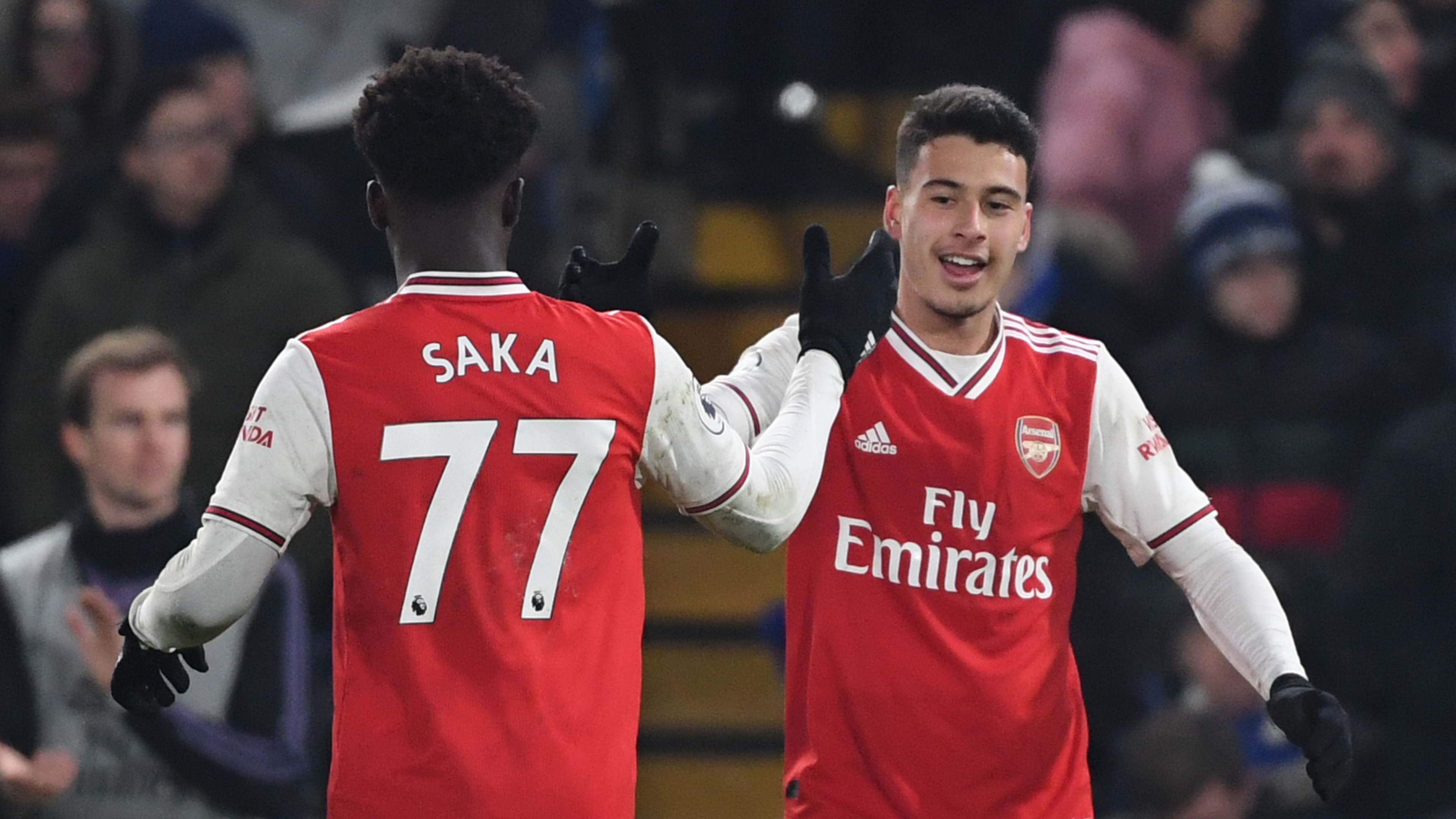 Arteta praises Martinelli's 'courage' after helping Arsenal to Chelsea draw