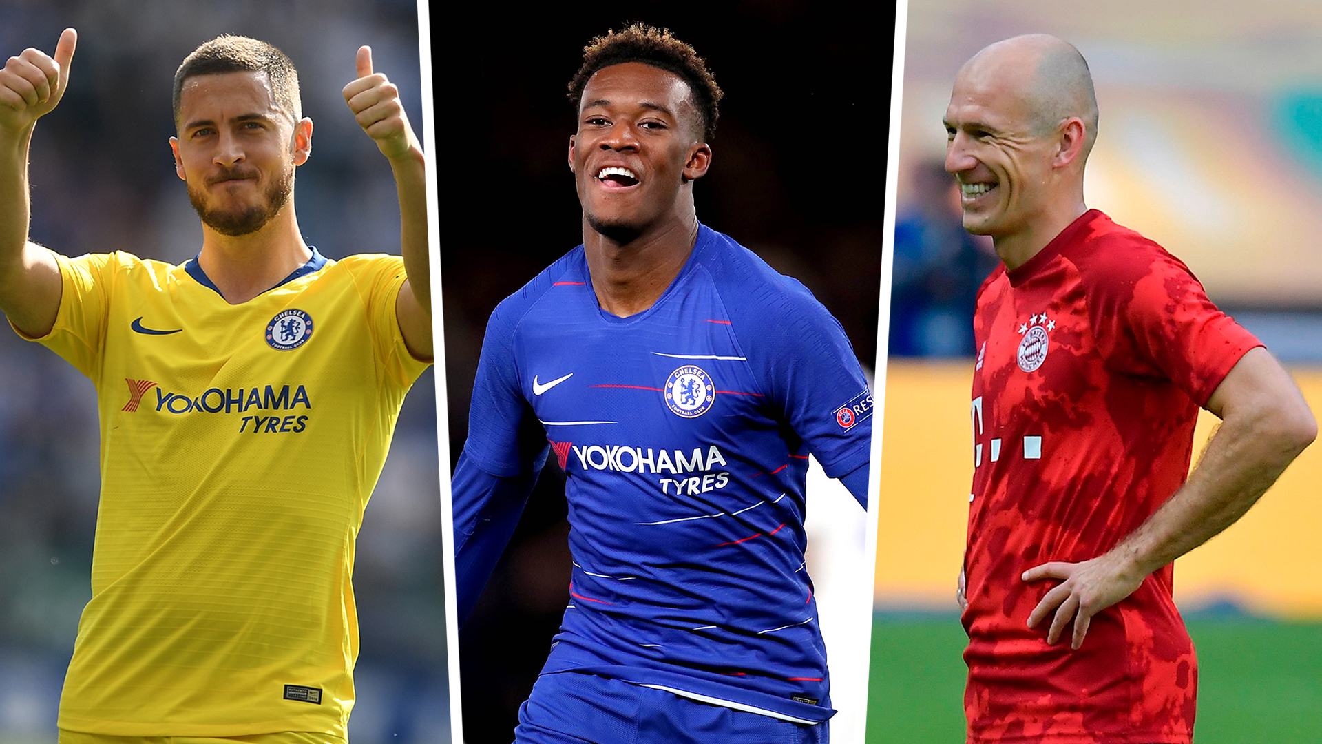 cheap for discount b8320 86019 Callum Hudson-Odoi new Chelsea contract: From Arjen Robben's ...