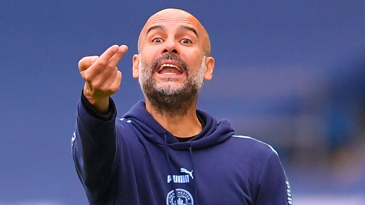 Pep Guardiola Manchester City 2019-20