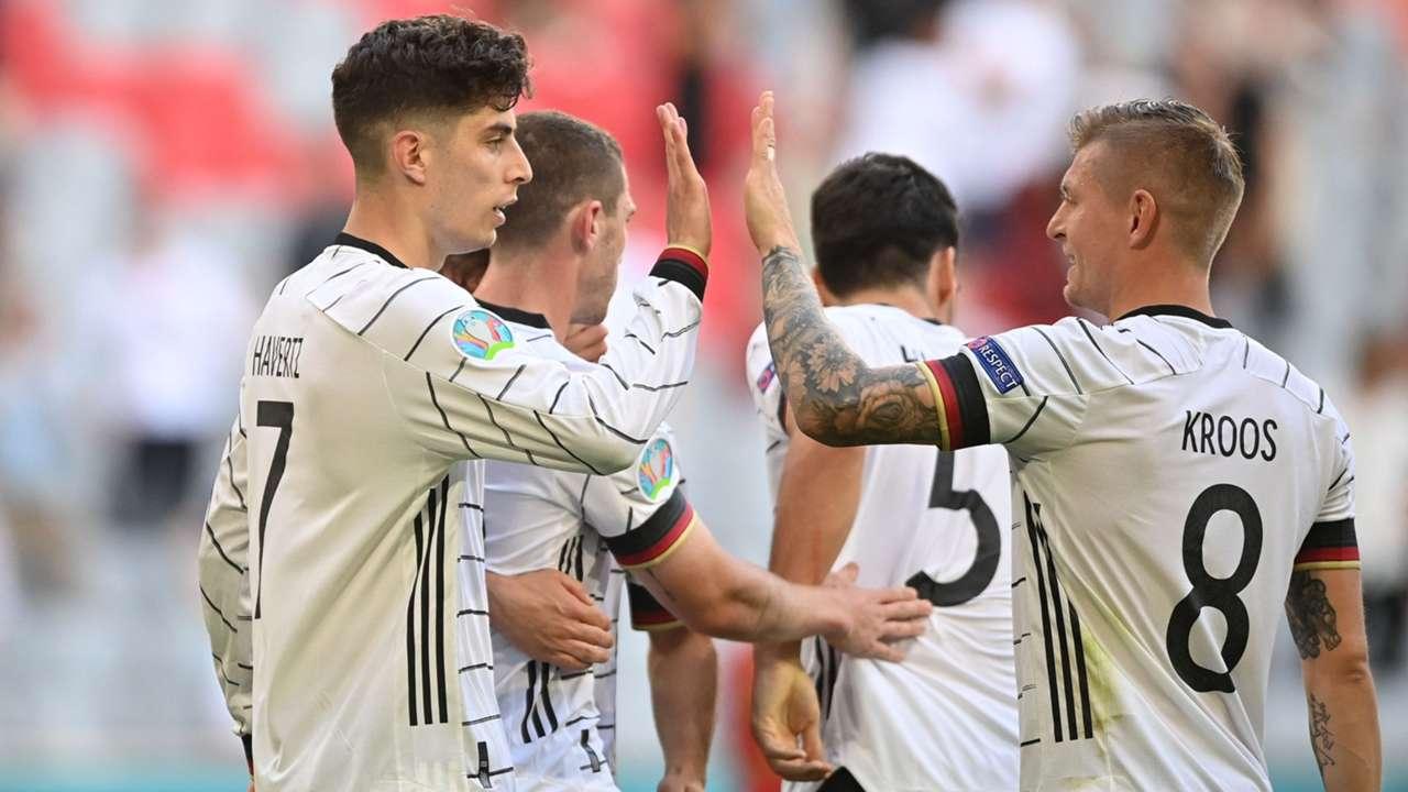 Kai Havertz Germany Portugal Euro 2020