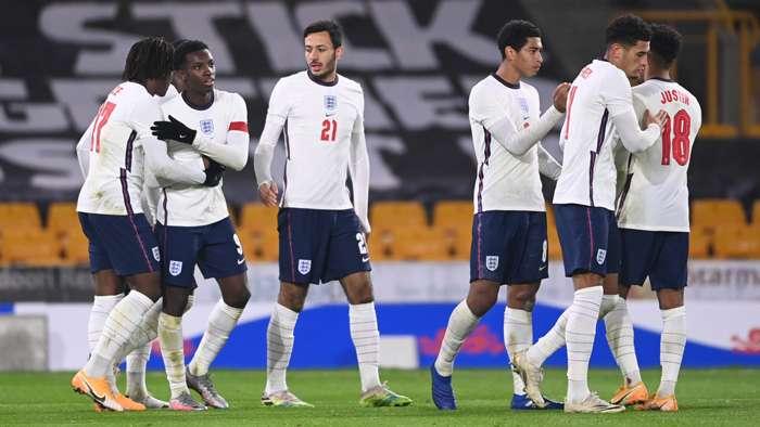 England U21 Eddie Nketiah 2020