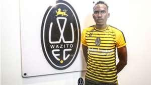 Karim Nizigiyimana signs for Wazito.