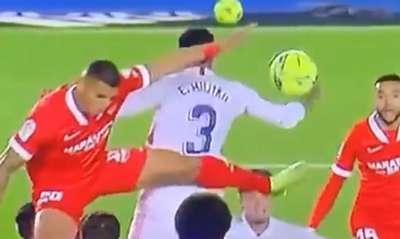 Militao, Real Madrid vs. Sevilla